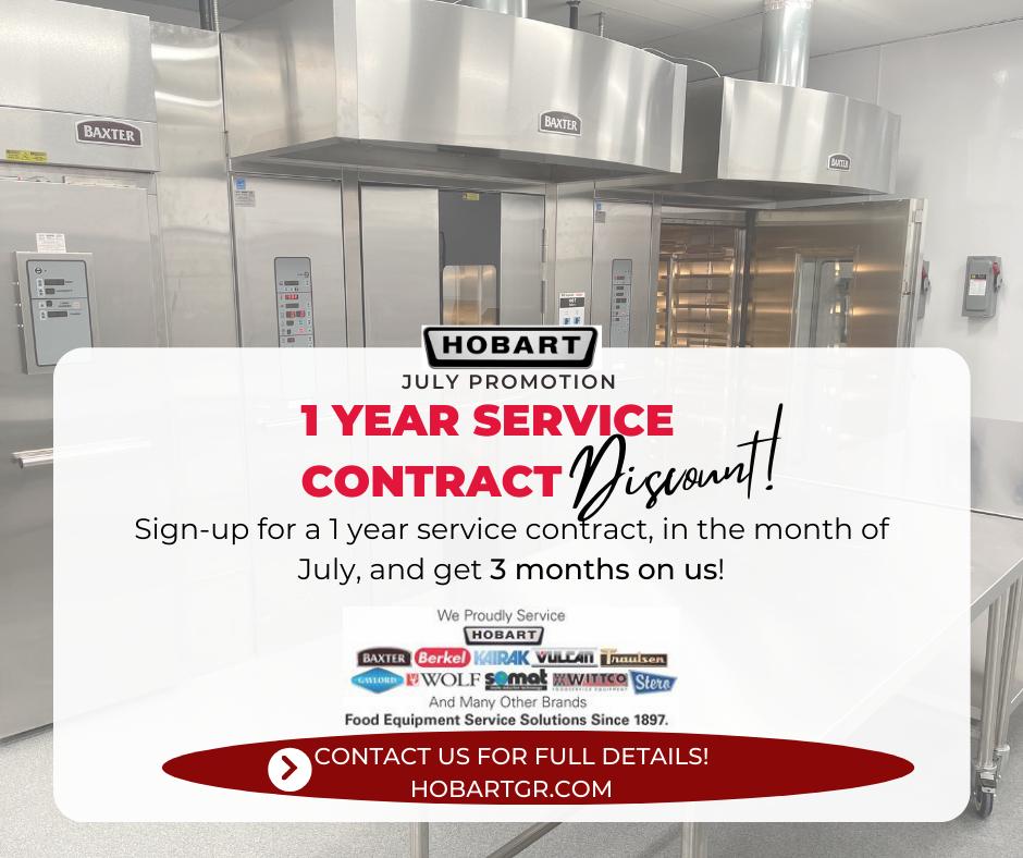 Hobart-Sales-and-Service-Grand-Rapids-MI-Service-Contract-Discount
